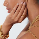 Real Beauty with Gold Jewelry